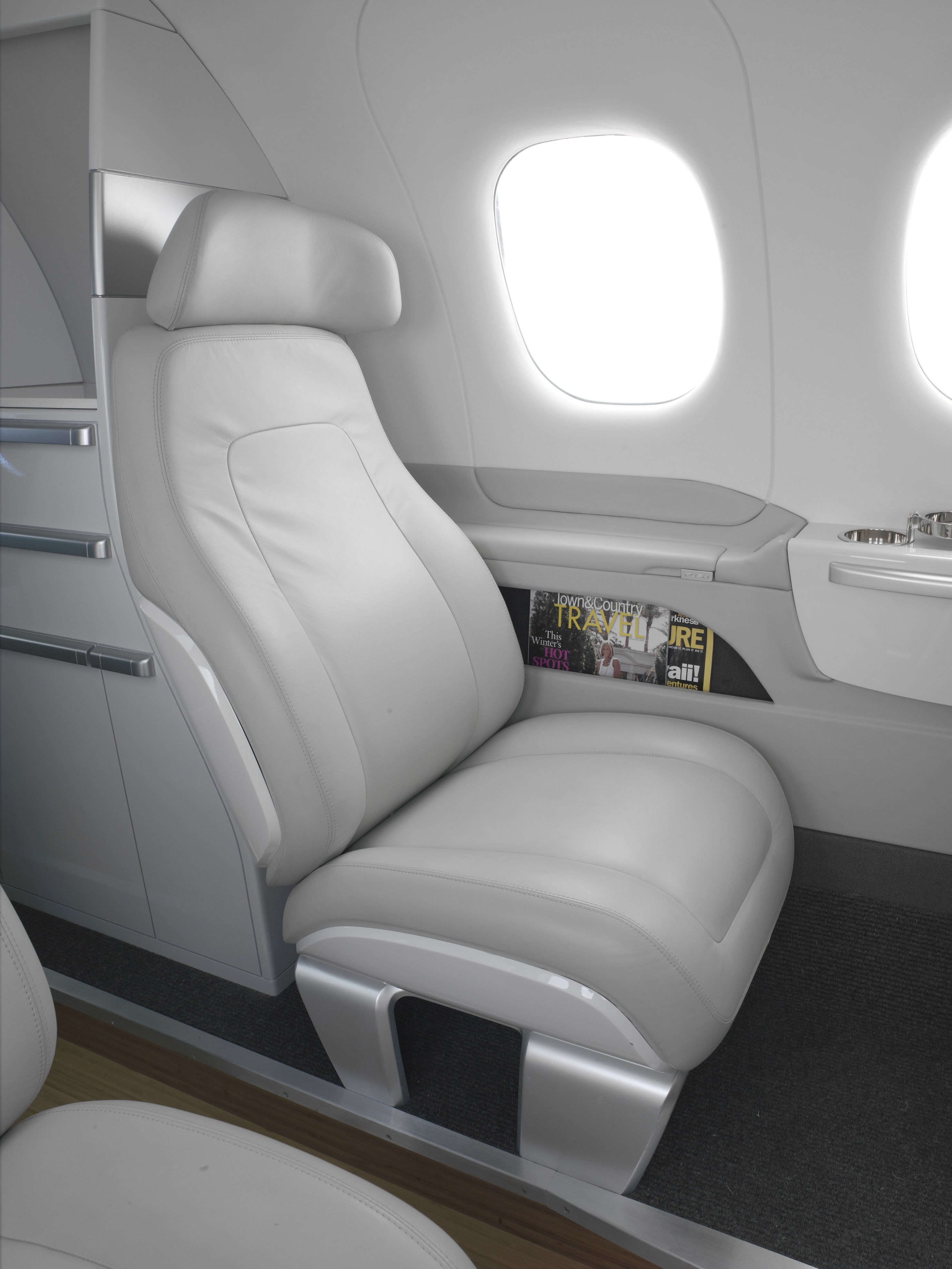 BMW designs airplane cabins and cockpits for Embraer aircrafts