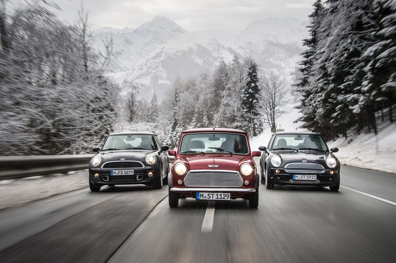 Good Things Small Packages The New Mini Vs The Old
