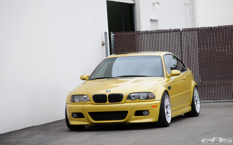 Phoenix Yellow BMW E46 M3 By EAS 01