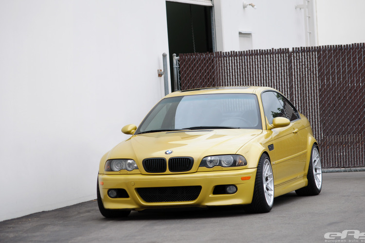 Phoenix Yellow BMW E46 M3 By EAS 01 750x500