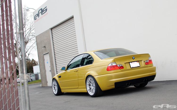 Phoenix Yellow BMW E46 M3 By EAS 02