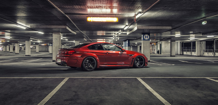 Prior Design PD6XX Widebody BMW M6 Image 06 750x361