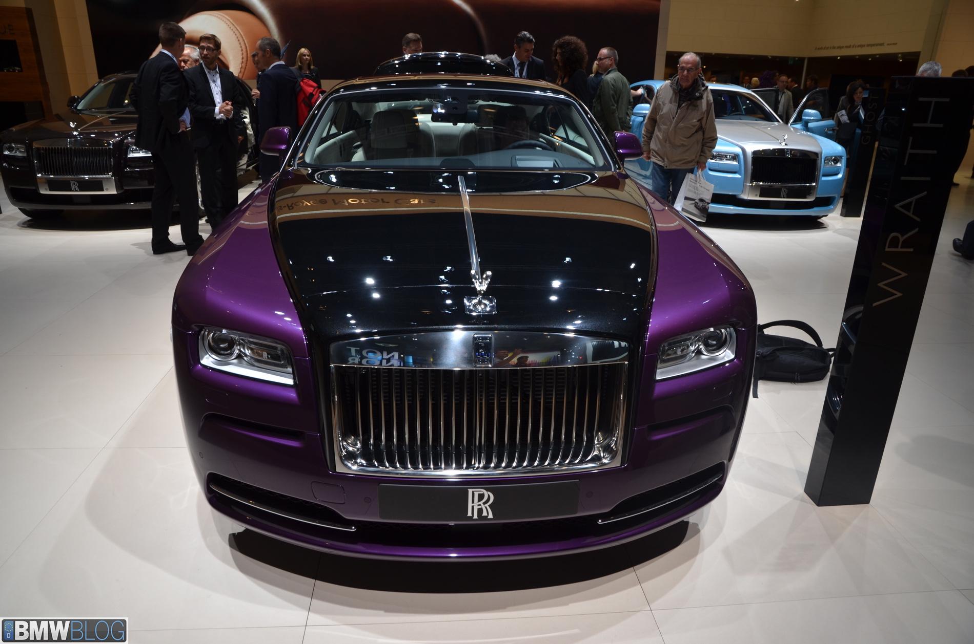 2013 Frankfurt Auto Show Rolls Royce Wraith And Celestial Phantom