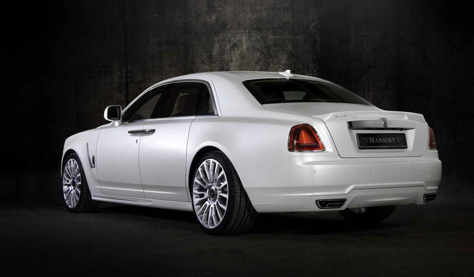 Rolls Royce Ghost Mansory 04