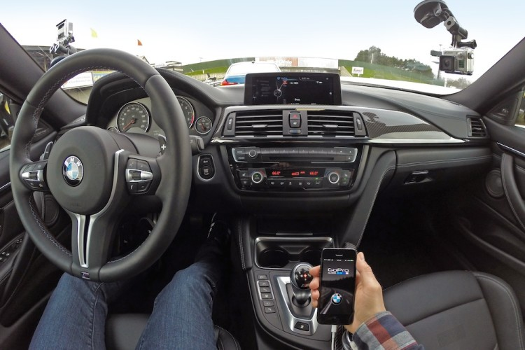 The All-New BMW M3/M4 with GoPro App Integration