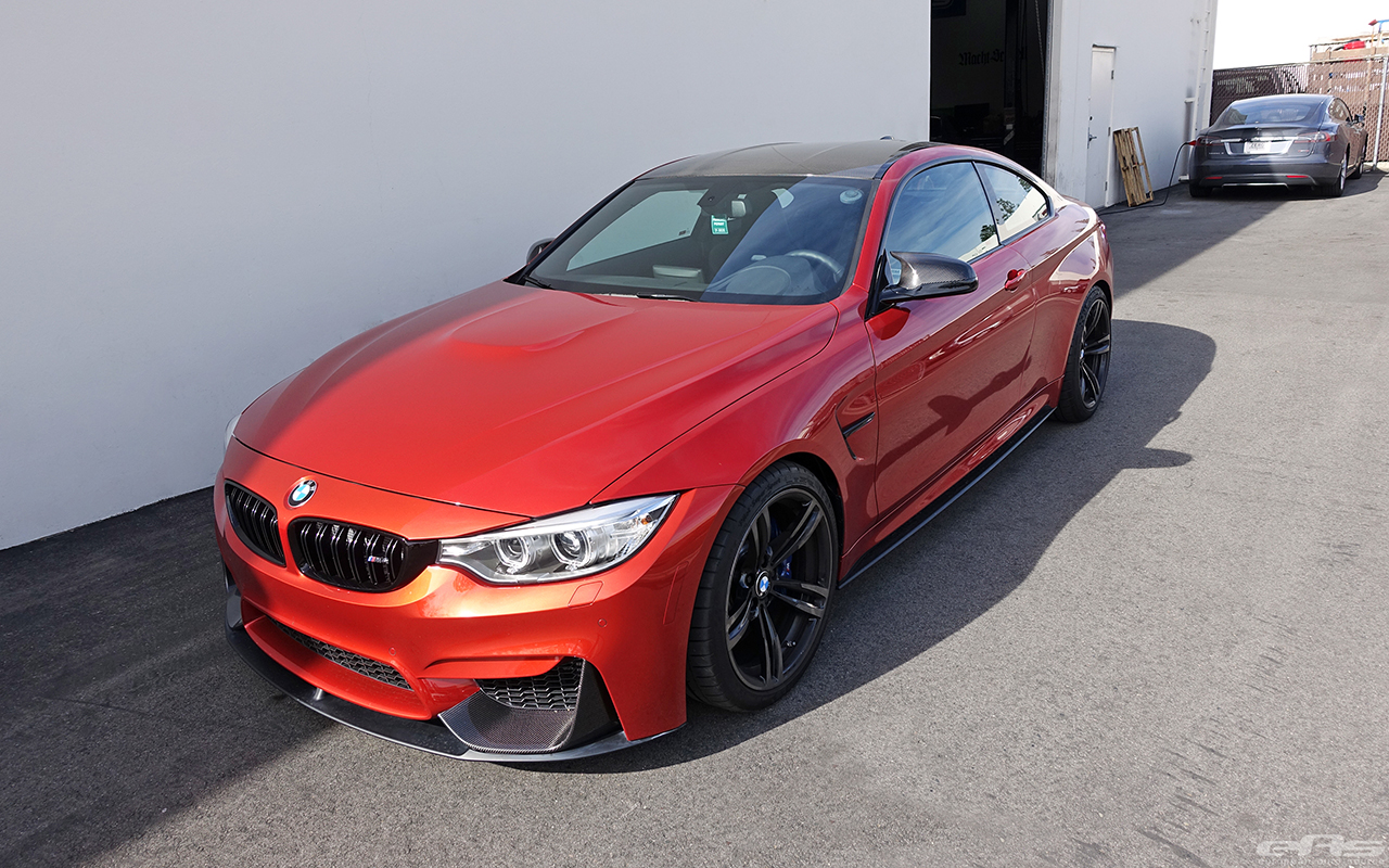 Sakhir Orange Bmw F82 M4 Gets Modded At European Auto Source