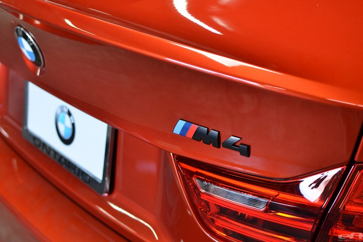 Sakhir Orange BMW F82 M4 In For Some Modifications At EAS Image 3 750x500