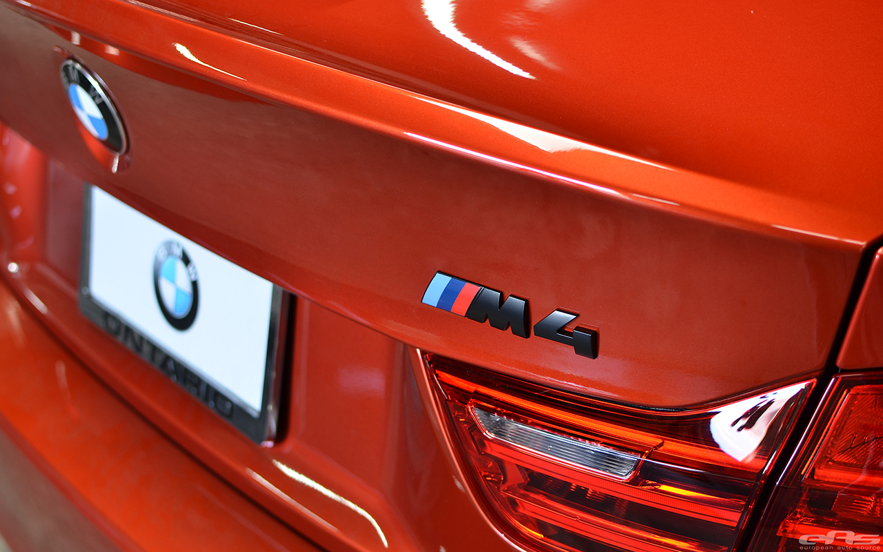 Sakhir Orange BMW F82 M4 In For Some Modifications At EAS Image 3