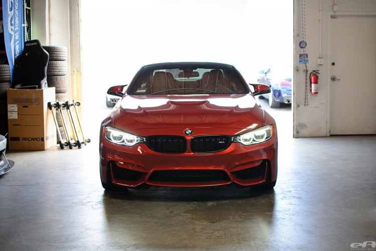 Sakhir Orange BMW F82 M4 In For Some Modifications At EAS Image 4 750x500