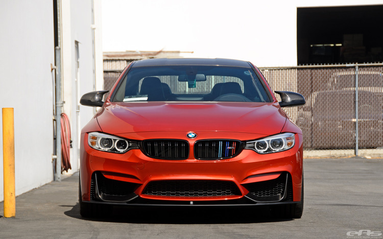 Sakhir Orange BMW F82 M4 With A M Performance Aero Package 9