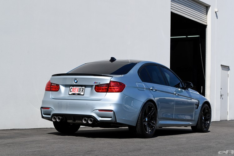 Silverstone Metallic BMW F80 M3 Gets M Performance Parts At EAS 15 750x500