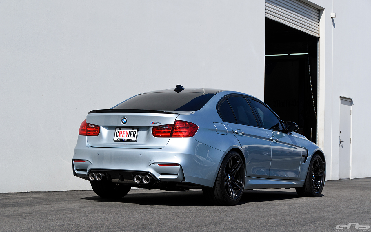 Silverstone Metallic BMW F80 M3 Gets M Performance Parts At EAS 15