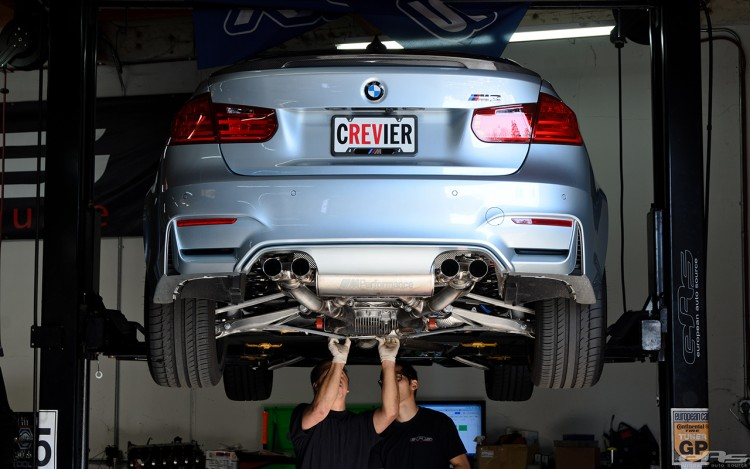 Silverstone Metallic BMW F80 M3 Gets M Performance Parts At EAS 7 750x469