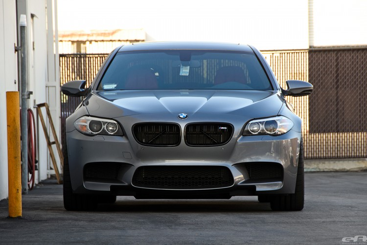 Space Gray BMW F10 M5 Gets Modified At European Auto Source 14 750x500