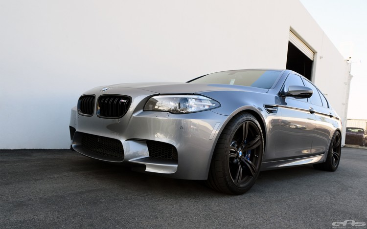 Space Gray BMW F10 M5