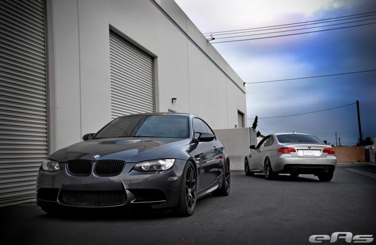Sparkling Graphite BMW E92 M3 With VMR Wheels 1