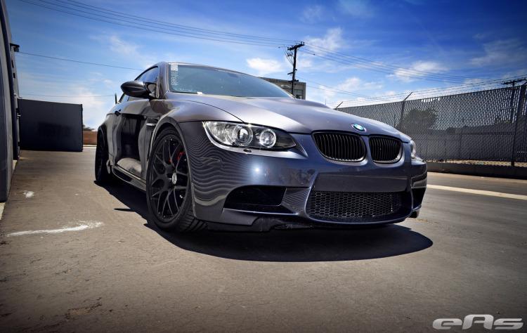 Sparkling Graphite BMW E92 M3 With VMR Wheels 2