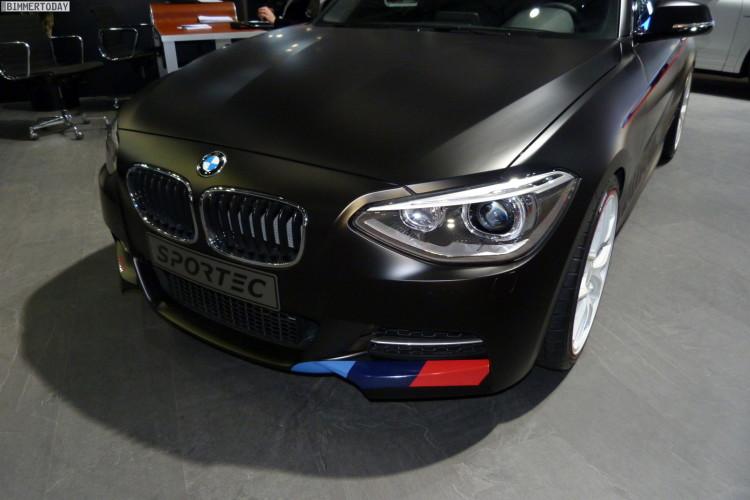 Sportec BMW M135i Tuning 370PS Autosalon Genf 2013 LIVE 01 750x500