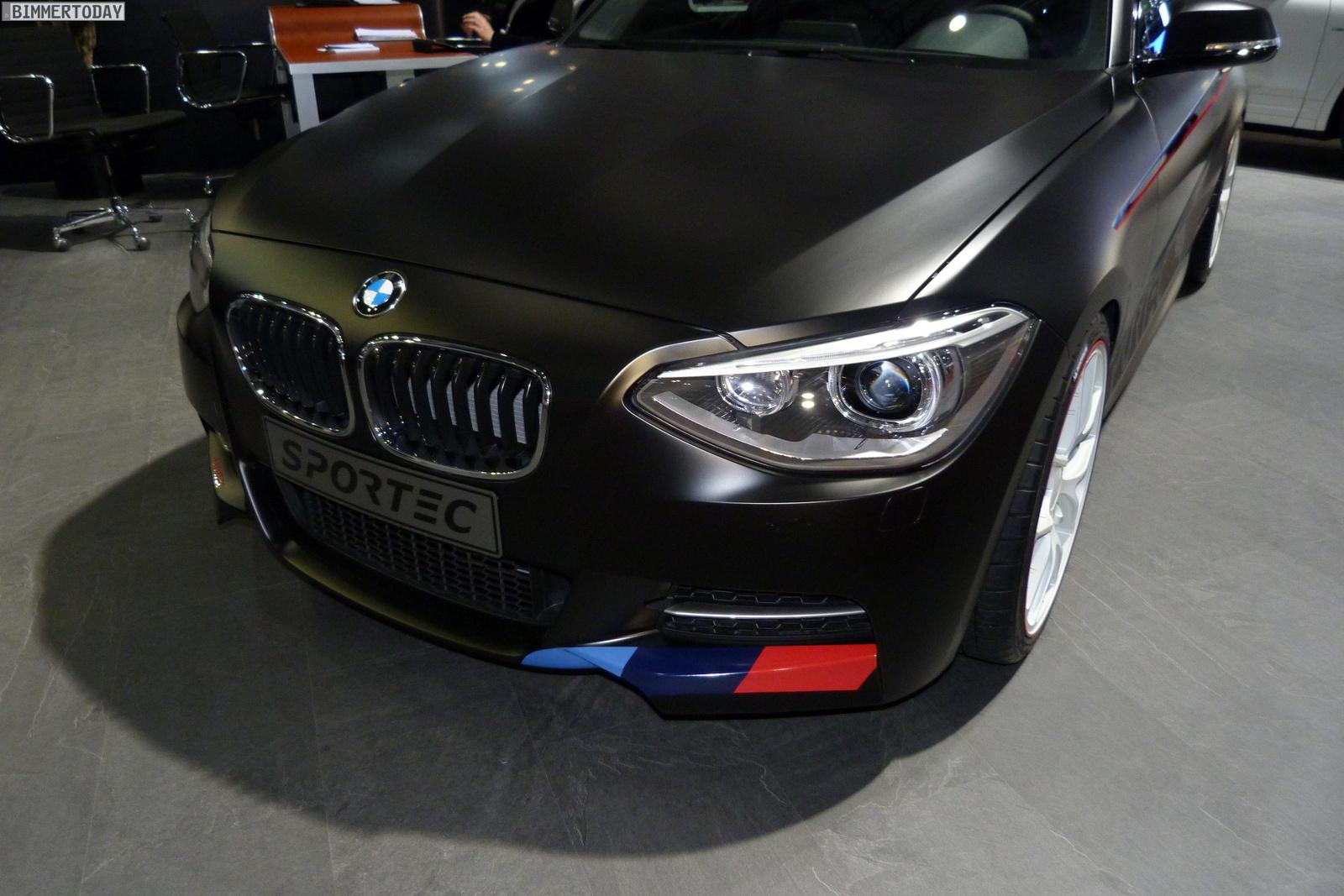 Sportec BMW M135i Tuning 370PS Autosalon Genf 2013 LIVE 01