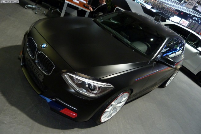 Sportec BMW M135i Tuning 370PS Autosalon Genf 2013 LIVE 02 655x436