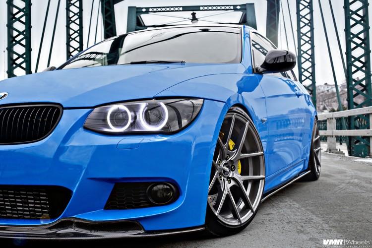 Stunning Santorini Blue BMW E92 M3 Image 1 750x500