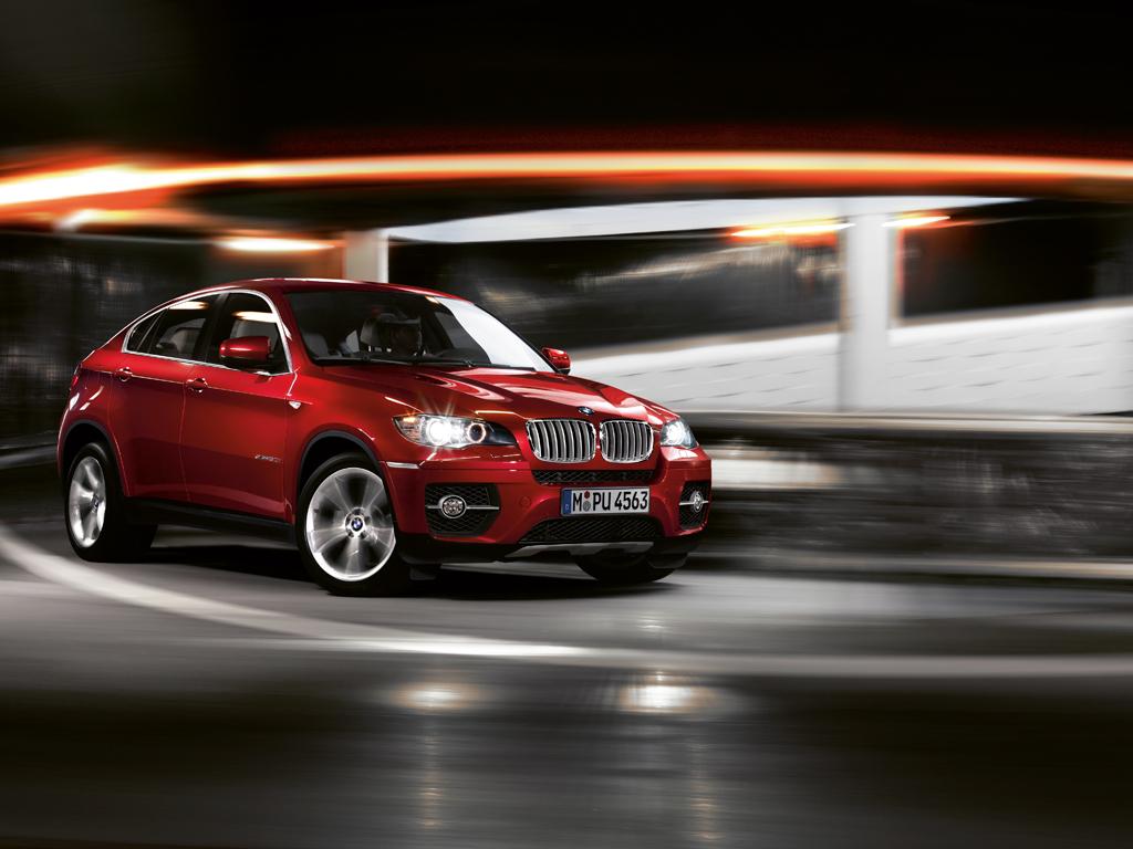 The BMW X6 wallpaper