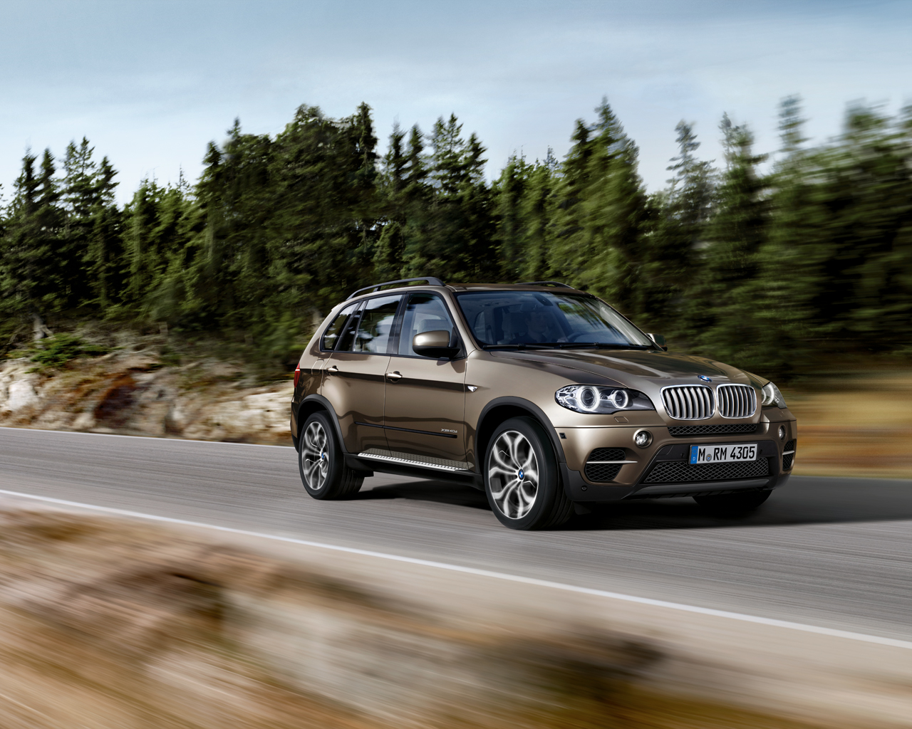 The new BMW X5 4