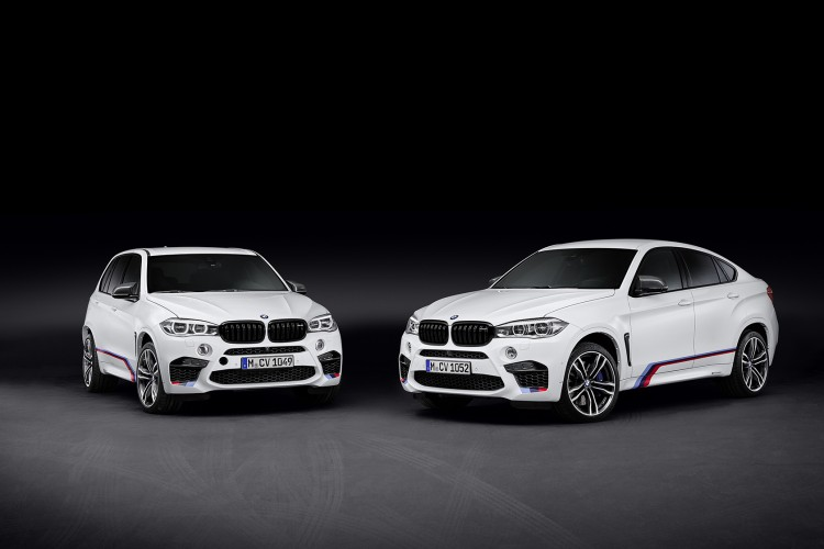 The new BMW X5 M and BMW X6 M with BMW M Performance Parts 750x500