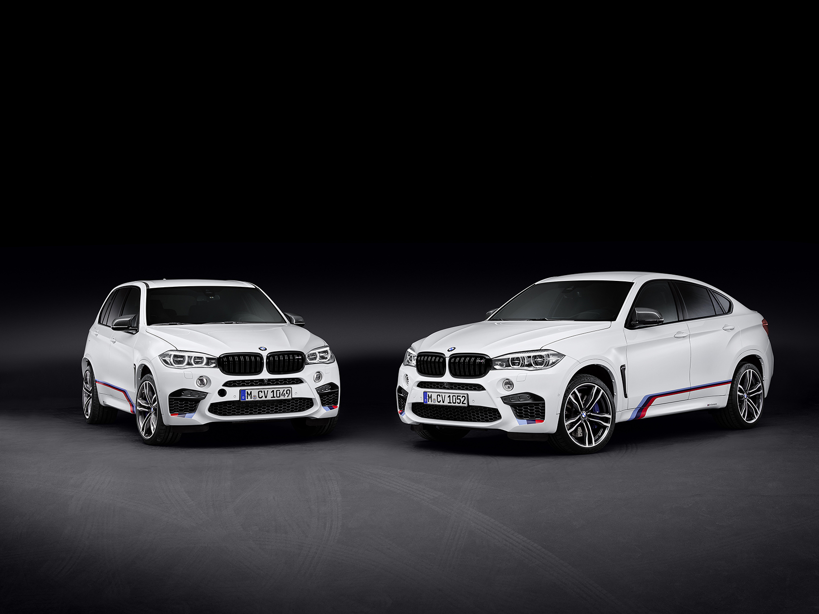 The new BMW X5 M and BMW X6 M with BMW M Performance Parts