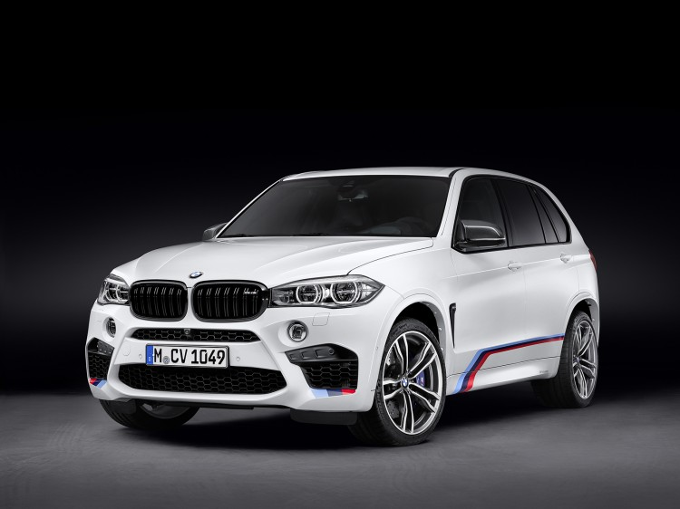The new BMW X5 M with BMW M Performance Parts