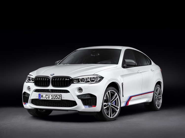 The new BMW X6 M with BMW M Performance Parts (1)
