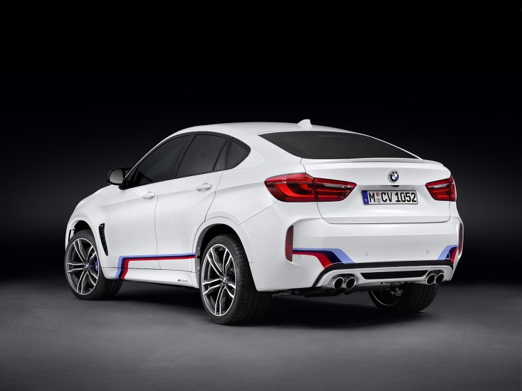 The new BMW X6 M with BMW M Performance Parts 2 750x562