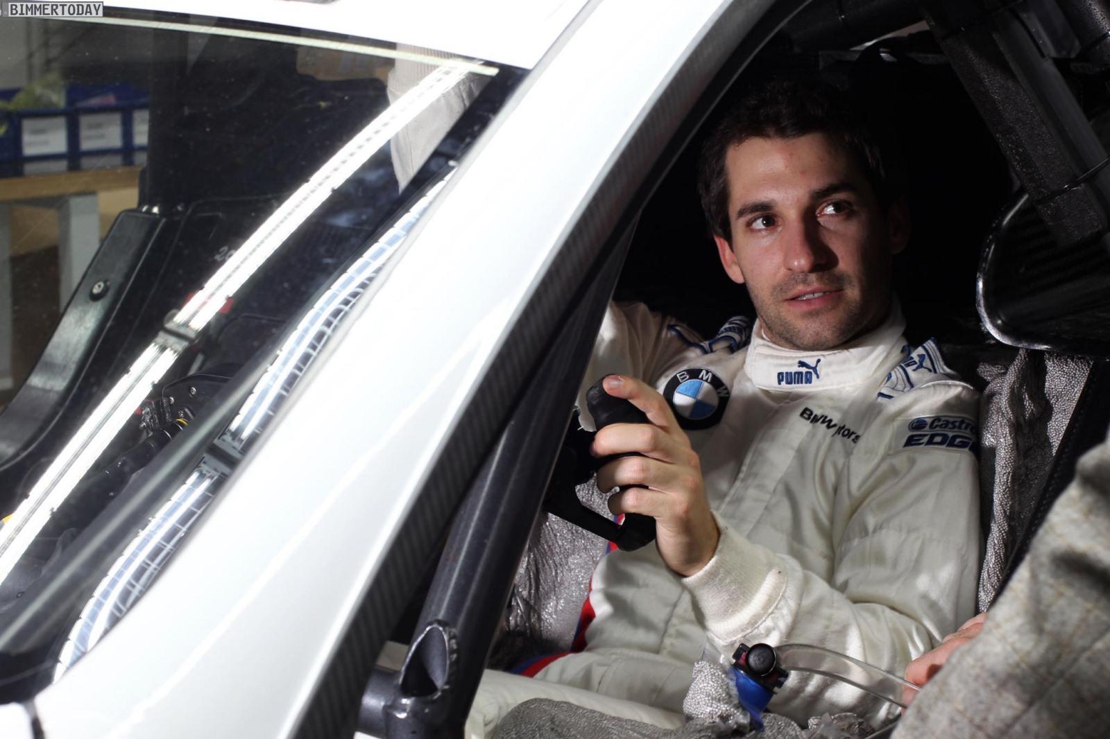 Timo Glock BMW M3 DTM Test Valencia