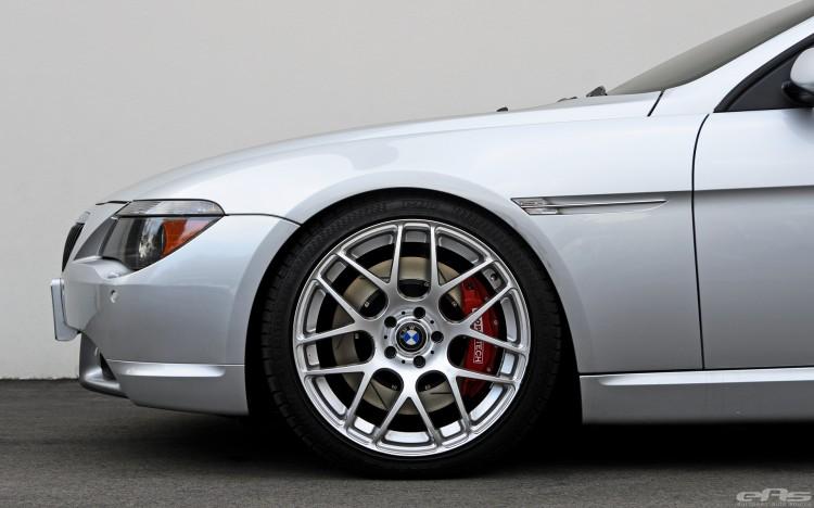 Titanium Silver BMW 645Ci
