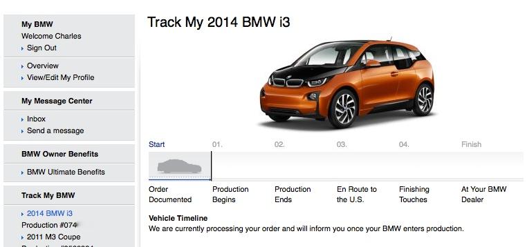 Track My i3