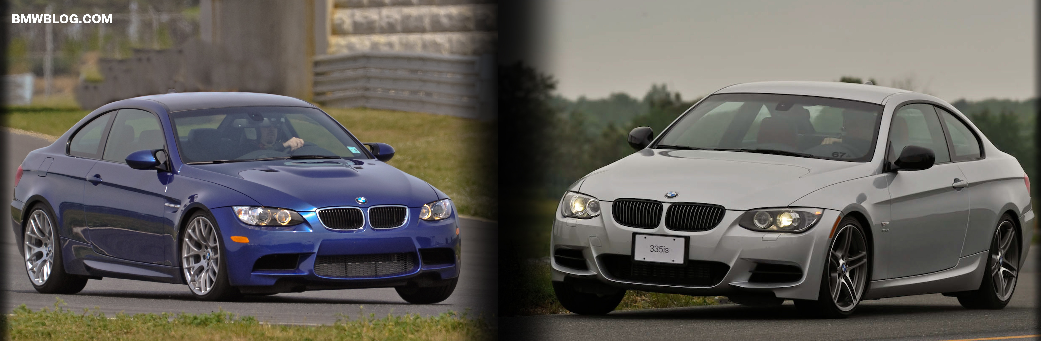 Bmwblog On Track Comparison M3 Vs 335is Bmw S Sibling Rivalry