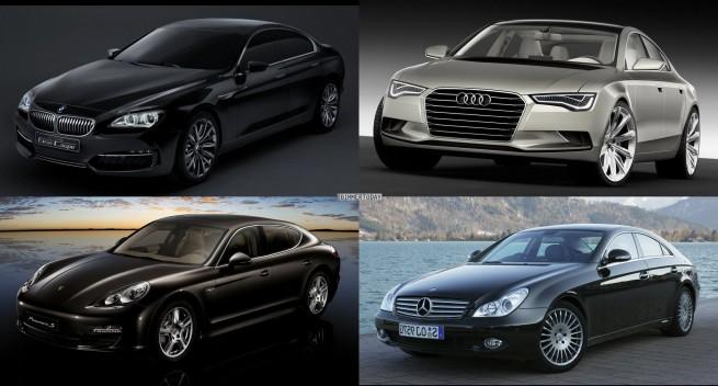 Vergleich-BMW-Gran-Coupe-Audi-Sportback-Porsche-Panamera-Mercedes-CLS-2