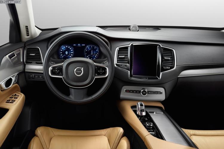 Volvo XC90 2014 SUV Autosalon Paris 06 750x500