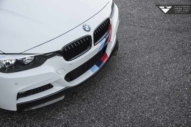 Vorsteiner BMW F30 on V FF 103 Wheels 3 750x500