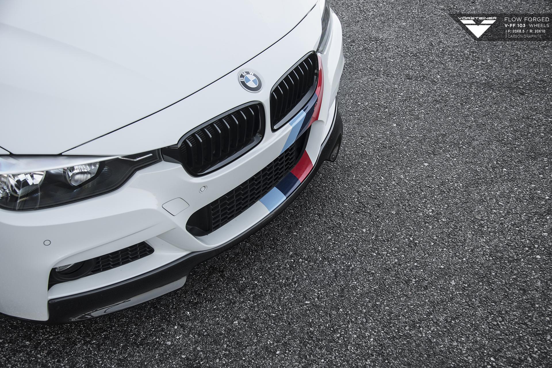 Vorsteiner BMW F30 on V FF 103 Wheels 3
