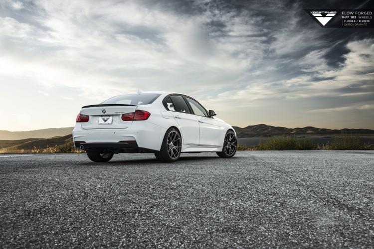 Vorsteiner BMW F30 on V-FF 103 Wheels