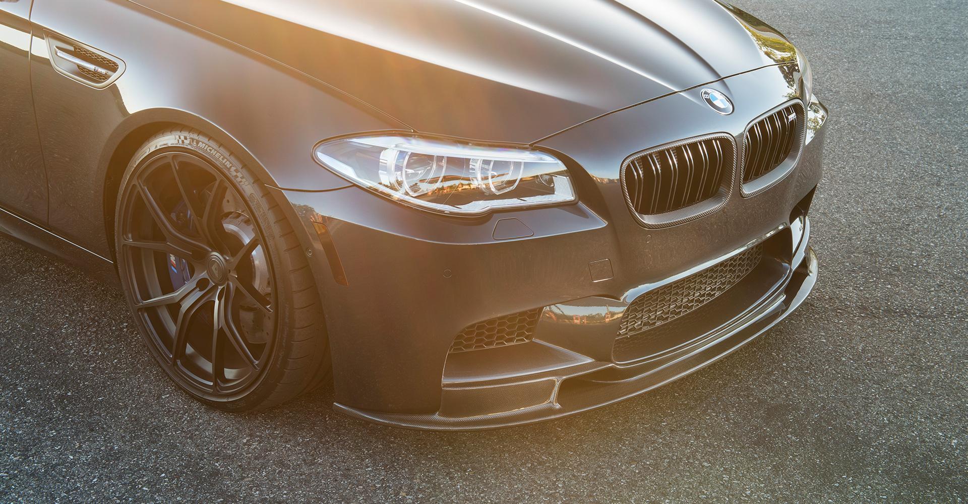 Vorsteiner Front Lip Spoiler For The BMW F10 M5 Image 2