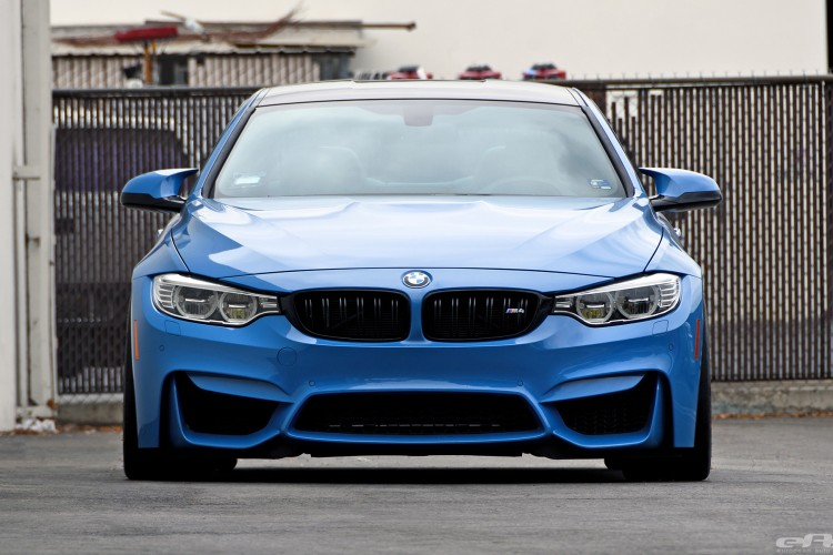 Yas Marina Blue BMW F82 M4 With Cosmetic Upgrades 6 750x500