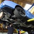 Yas Marina Blue BMW M4 Receives An Akrapovic Exhaust System