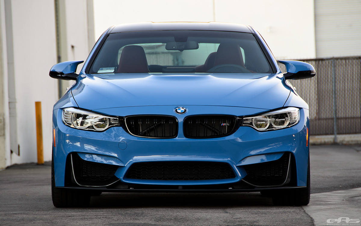 Yas Marina Blue Bmw M4 With M Performance Parts