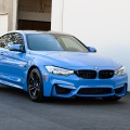 Akrapovic Exhaust And ER Downpipes For A Yas Marina Blue M4