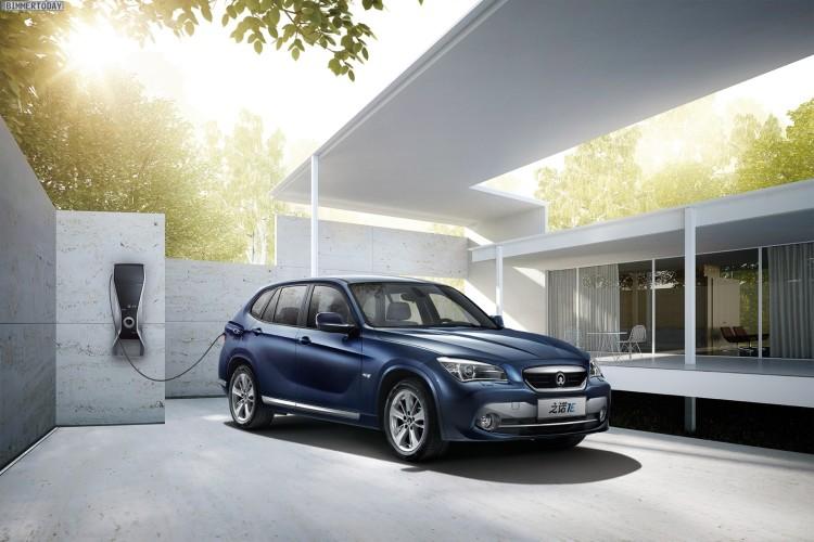 Zinoro 1E BMW X1 China Elektro SUV Guangzhou 2013 05 750x500