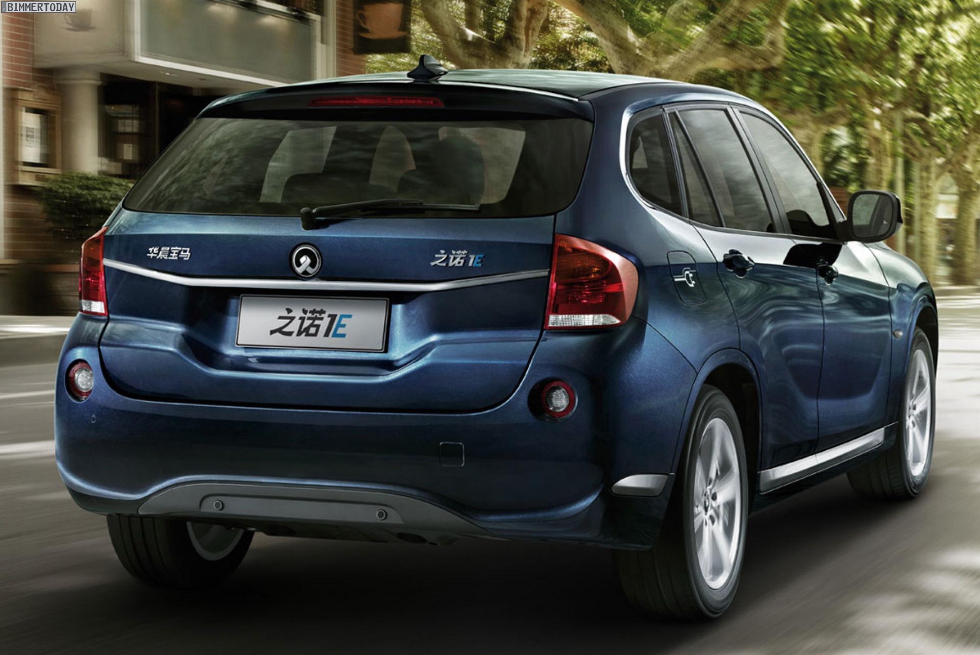 Zinoro 1E BMW X1 China Elektro SUV Guangzhou 2013 09