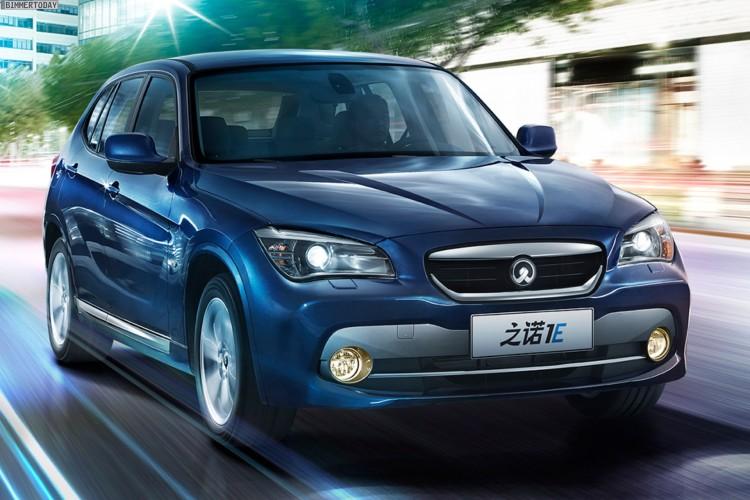Zinoro 1E BMW X1 China Elektro SUV Guangzhou 2013 11 750x500