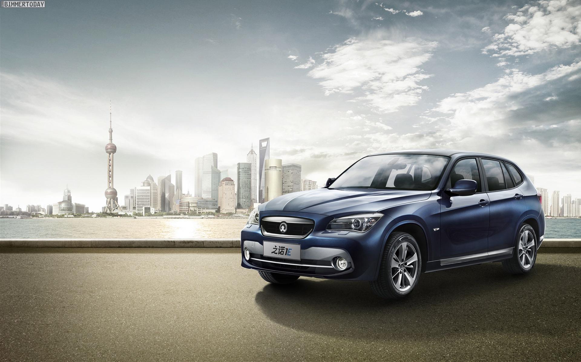 Zinoro 1E BMW X1 China Elektro SUV Guangzhou 2013 14